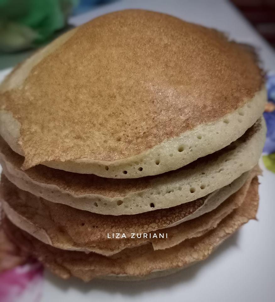 Resepi Pancake Pisang Tanpa Gluten Paling Mudah dan Sedap