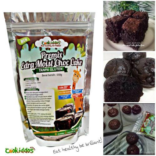 Premix Extra Moist Choc Cake Tanpa Gluten