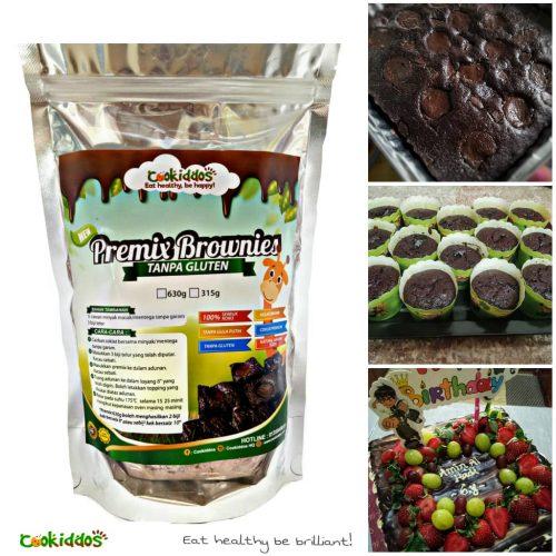 Premix Brownies Tanpa Gluten